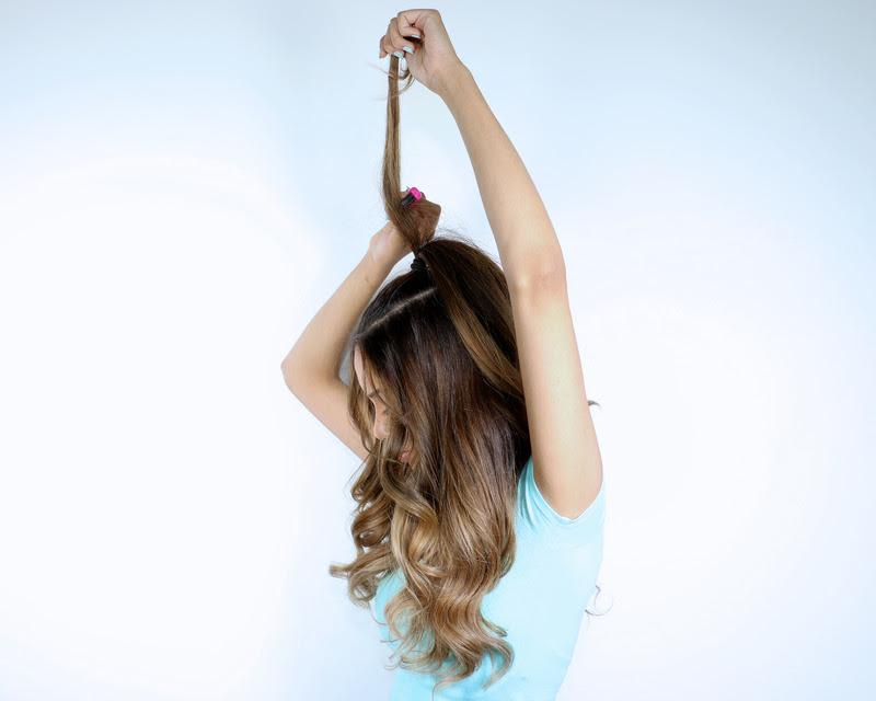 Ariana Grande Inspired Half Pony