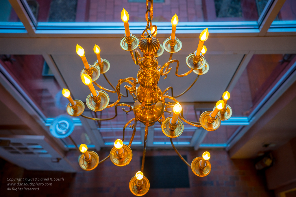a photo of a chandelier in the merrick art gallery new brighton pennsylvania