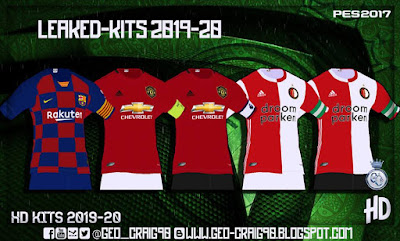 PES 2016 / PES 2017 Leaked-Kits 2019-20 HD [AIO] by Geo_Craig90