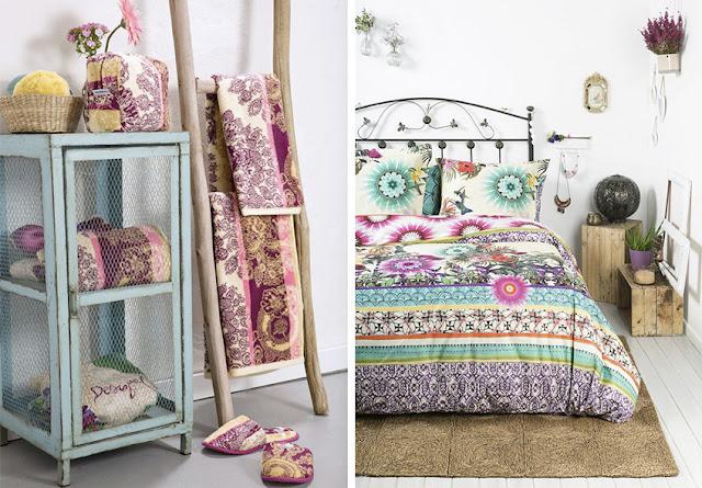 Dormitorios otoñales con estilo boho chic