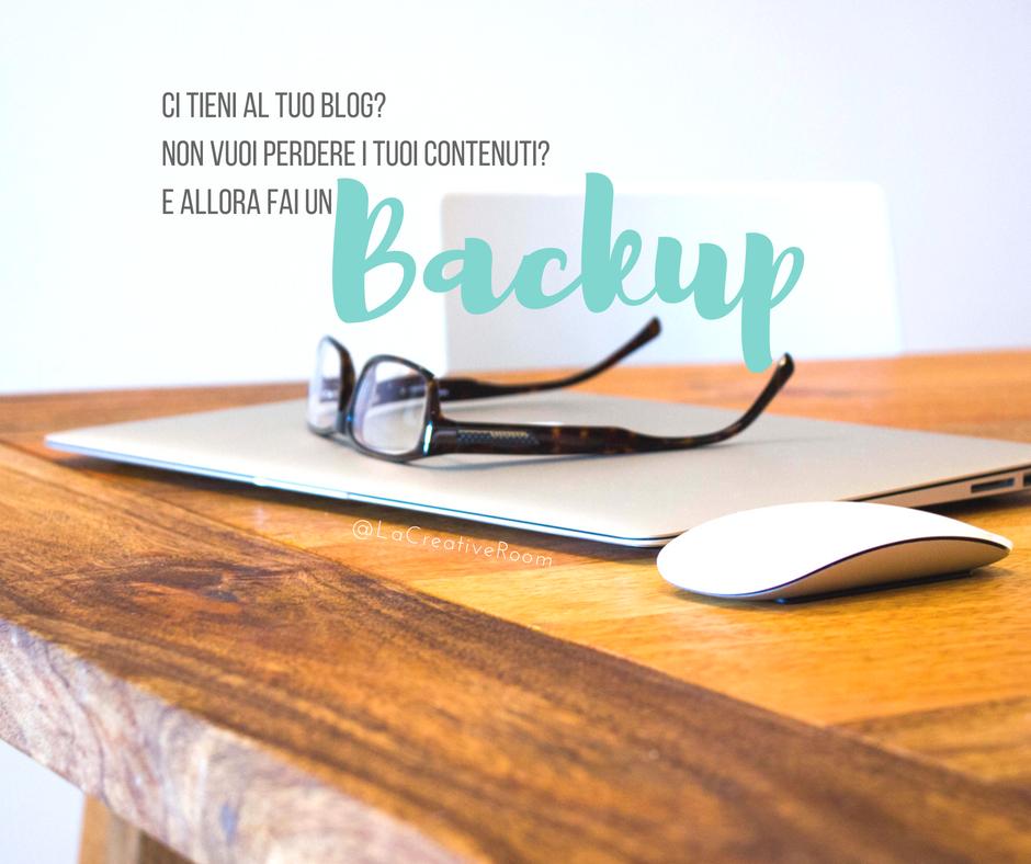 Come fare il backup del tuo blog e non perdere nulla