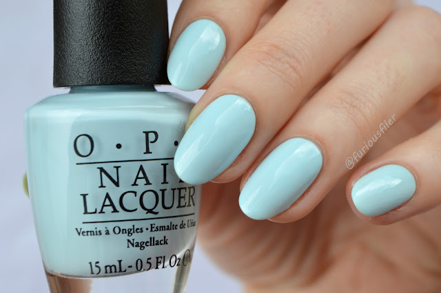 opi baby blue it's a boy softshades pastels