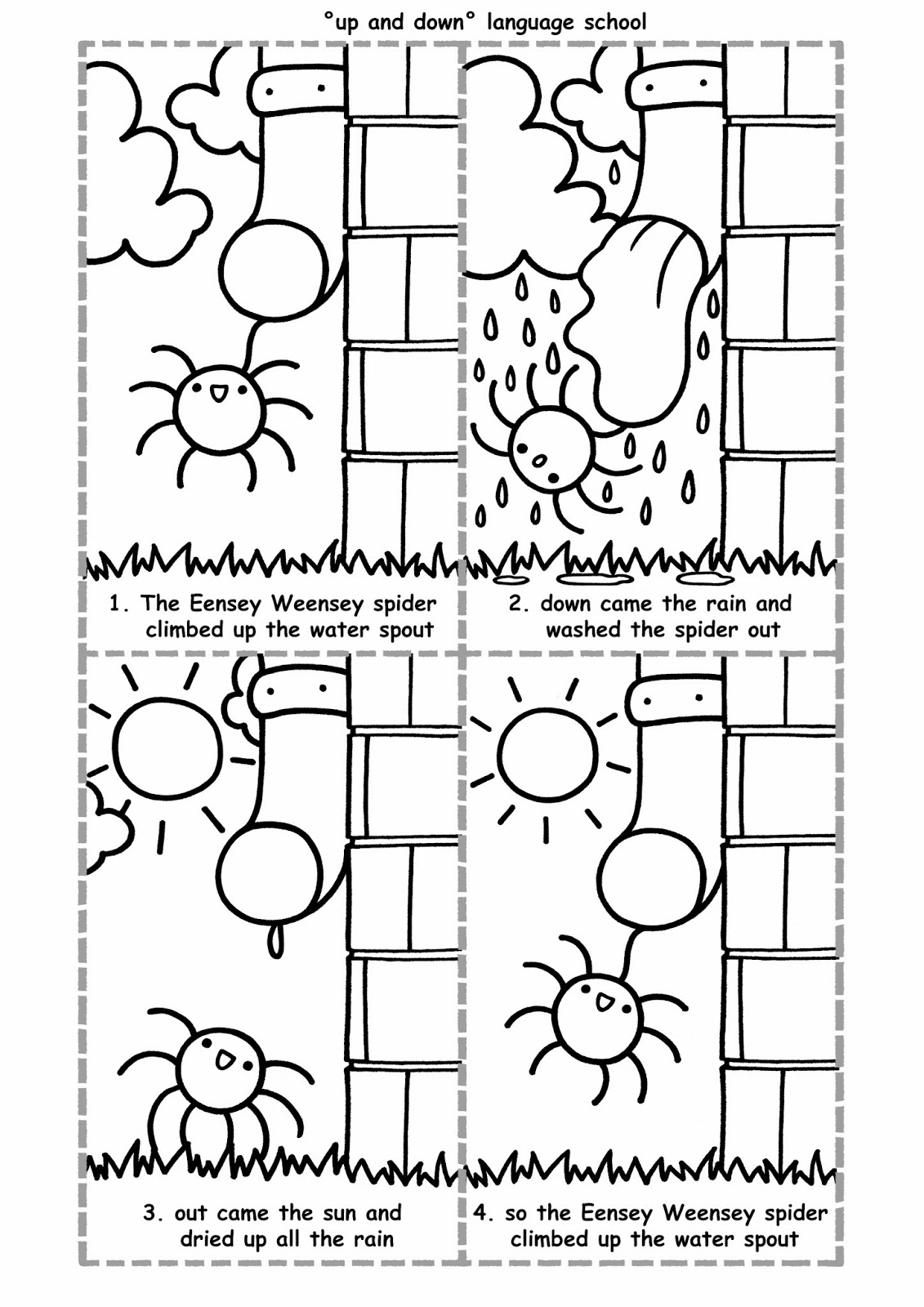Up And Down New Worksheets