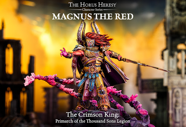 Forge World: Horus Heresy - Magnus The Red Marches Forth!