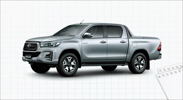 Giá xe Toyota Hilux 2.8G 4x4 AT MLM 2019
