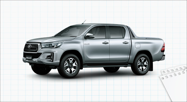 Toyota Hilux 2.8G 4x4 AT MLM 2019