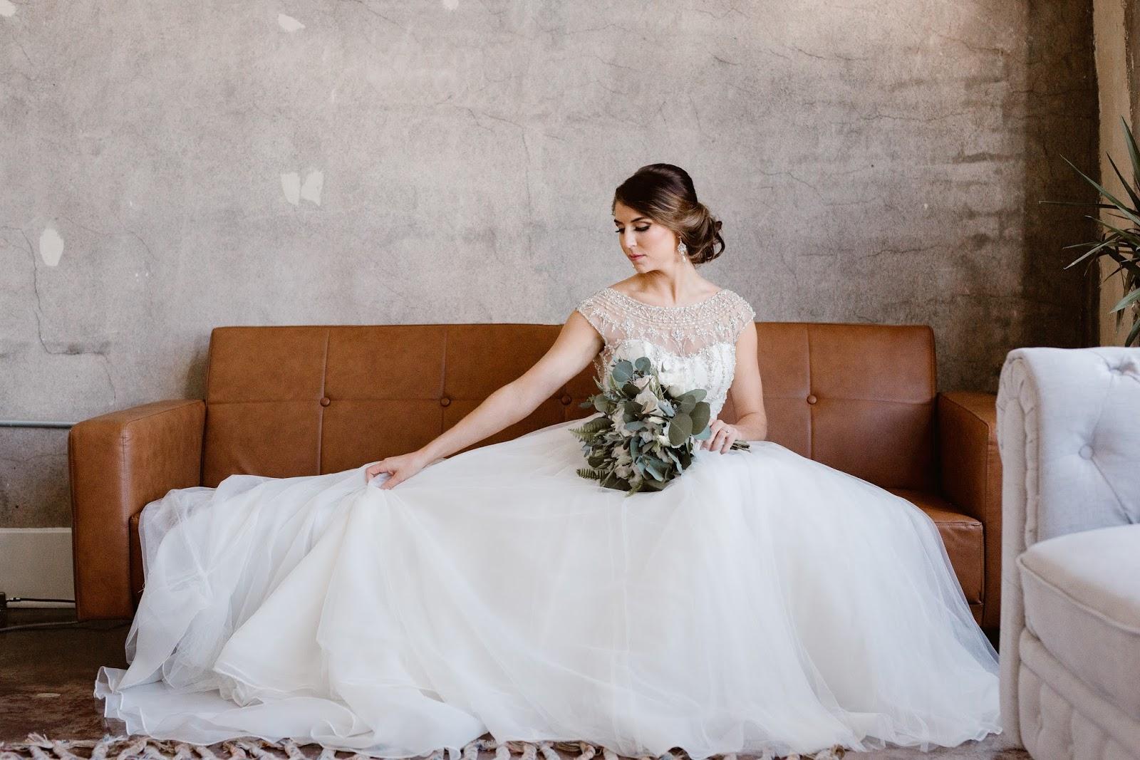 Caroline & Logan's Southern Railway Real Wedding