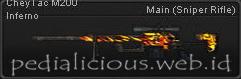 CheyTac M200 Inferno