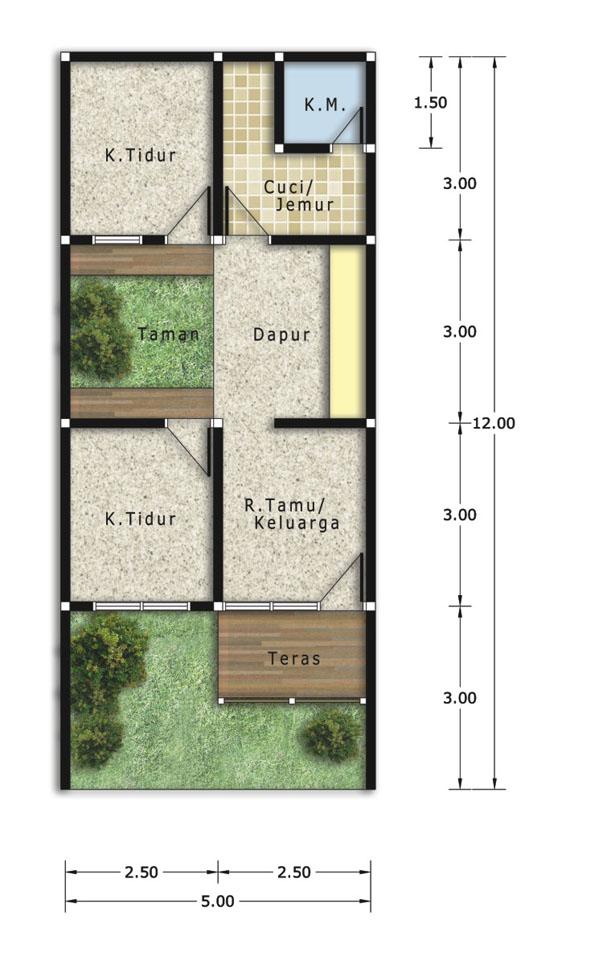 Ukuran Rumah Type 21 - Hardworkingart