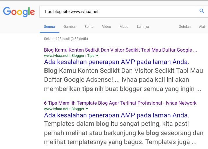 Cara Membuat From Search Blog Menjadi Search Google