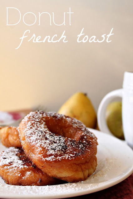Donut French Toast via @labride