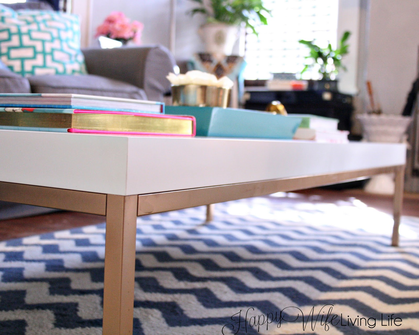 Happy Wife Living Life : New Coffee Table Reveal (And Easy ...