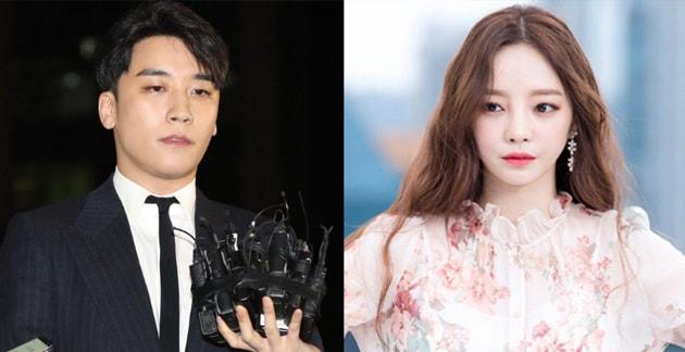 Hara responde a un internauta preguntándole si tiene alguna relación con el caso de Seungri