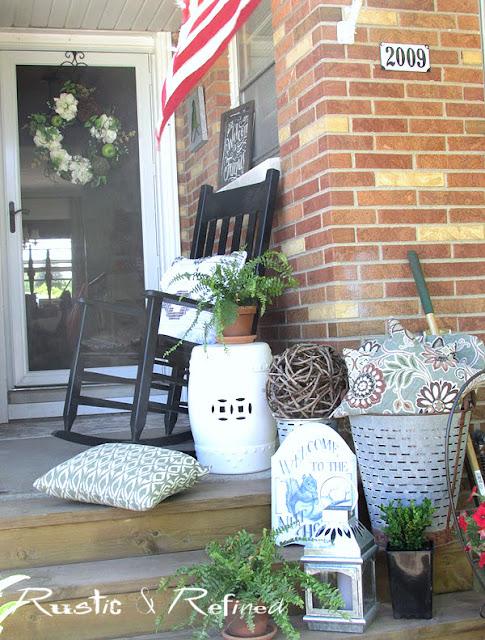 Porch Decor Ideas for Summer