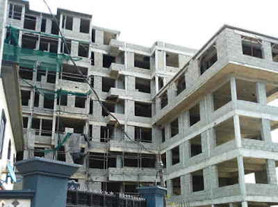 Lagos Government Demolishes Nine-Storeyed Structure For Not Having Approval