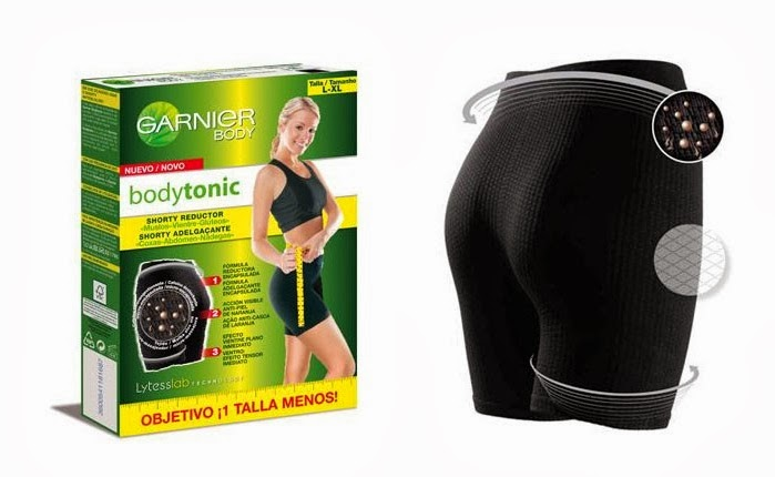 shorty reductor garnier bodytonic