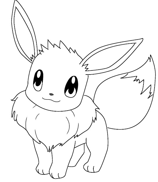 Pokemon Coloring Pages Eevee Evolutions Pokmon News Pokemon