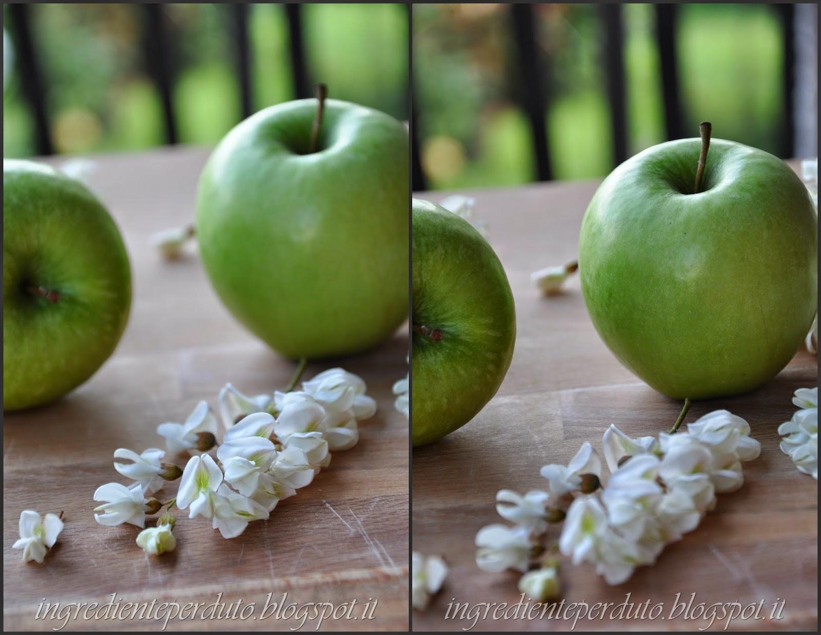 gelée mele e fiori d'acacia