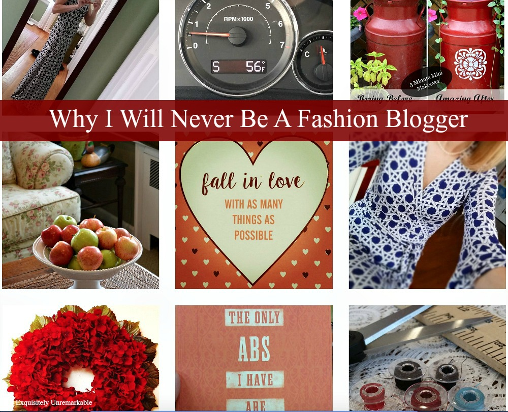 The Reasons Why I Will Never Be A Fashion Blogger