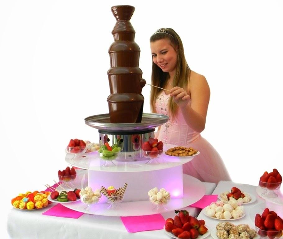 fuente fondue cascada de chocolate precio