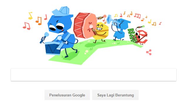 Hari Anak Nasional Turut Menghiasi Google Doodle
