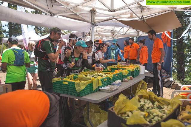 El Consorcio de Servicios de La Palma recoge 1.250 kilos de residuos tras la Transvulcania