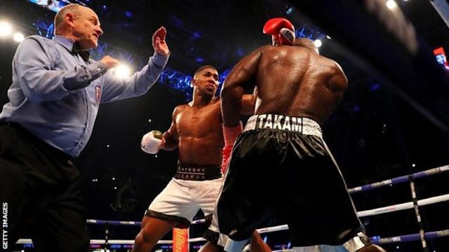 Anthony Joshua vs Carlos Takam IBF & WBA Title Fight (Results & Highlights)