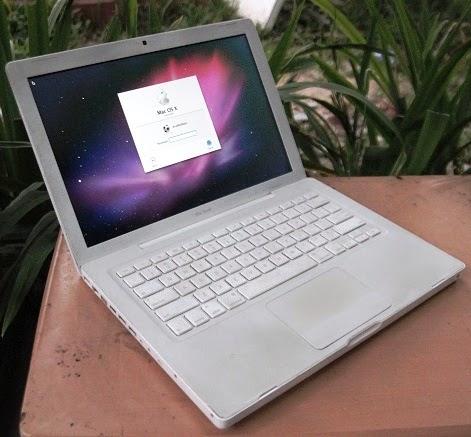 jual Macbook White 4.1  bekas