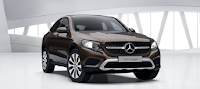 Mercedes GLC 300 4MATIC Coupe 2017 màu Nâu Citrine 796