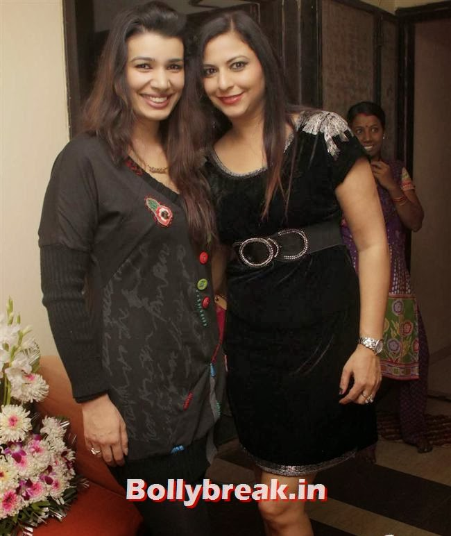 Gurpreet Kaur Chadha with Mink Brar, Gurpreet Kaur Chadha Birthday Party