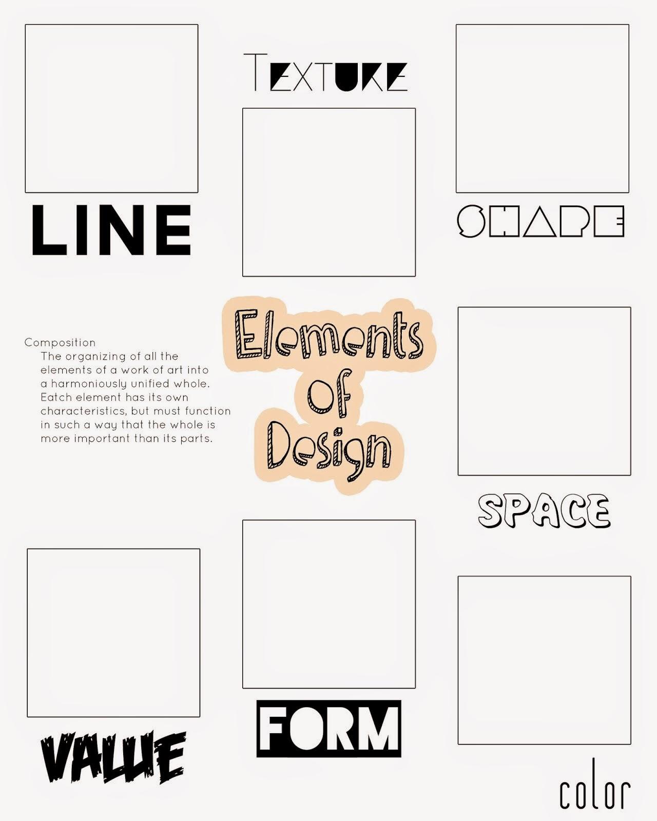 ARTimus Prime: 8th- Elements and Principles of Design Unit