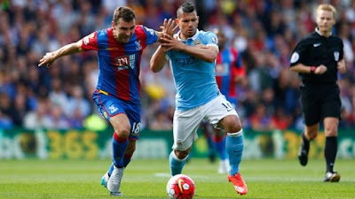 Crystal Palace end Manchester City's winning run