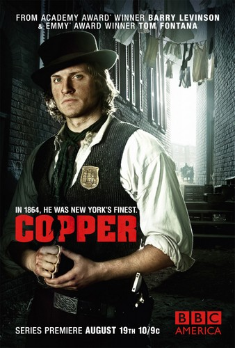 série Copper de Tom Fontana