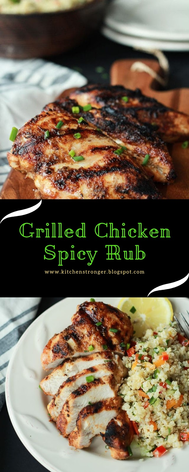Grilled Chicken Spicy Rub