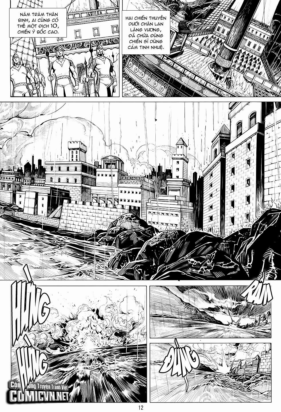 Chiến Phổ chapter 1: chiến thần lan lăng vương trang 13