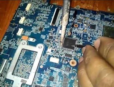 cara memperbaiki ic power pada hp