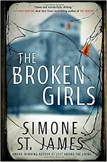 The Broken Girls by Simone St. James book cover.