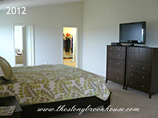 Master Bedroom Before & After ~ It's Finished!!