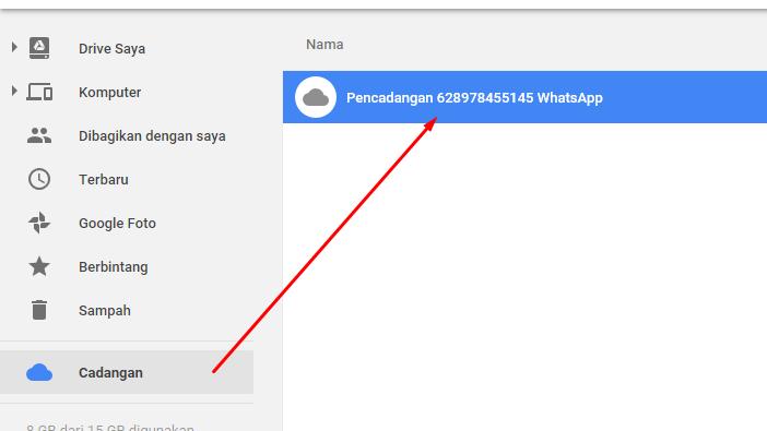 Temukan Cara Melihat Cadangan Pesan Wa Di Google Drive Terbaru