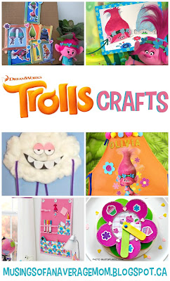 Trolls Craft Ideas