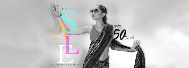 Fall Sale - Upto 50% off on - Roopkatha Season