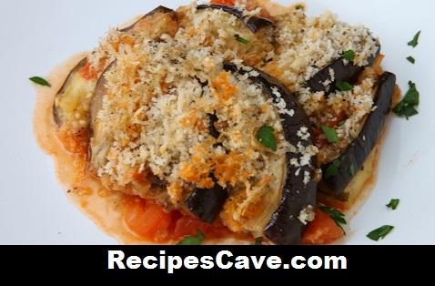 Hasselback Eggplant Parmesan Recipe