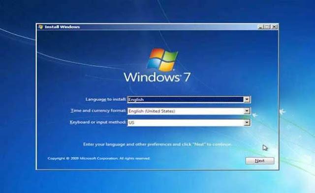 5 - Tutorial Menginstal Windows 7