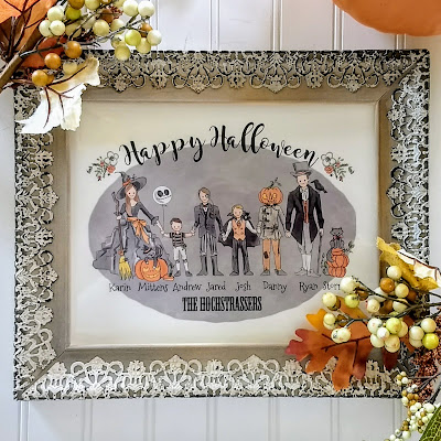 Halloween Portraits / Gifts / Family Illustrated Portrait?