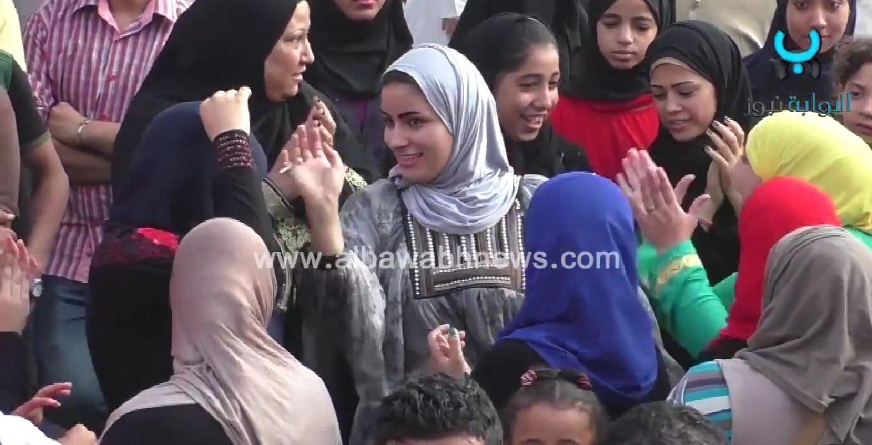 شاهد رقص البنات والشباب فى شارع جامعة الدول العربية اليوم