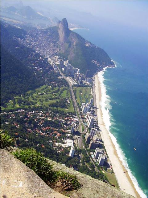 vista da Pedra da Gávea – Rio de Janeiro