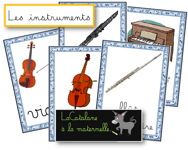 Carnaval - images instruments (LaCatalane)