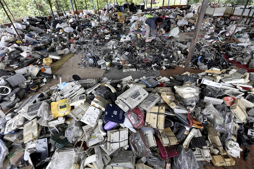 Tình hình rác thải điện tử ở việt nam