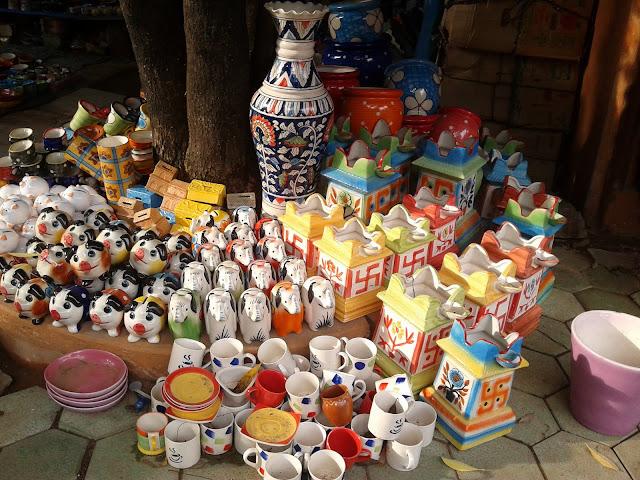 khurja pottery Tea sets piggy bank