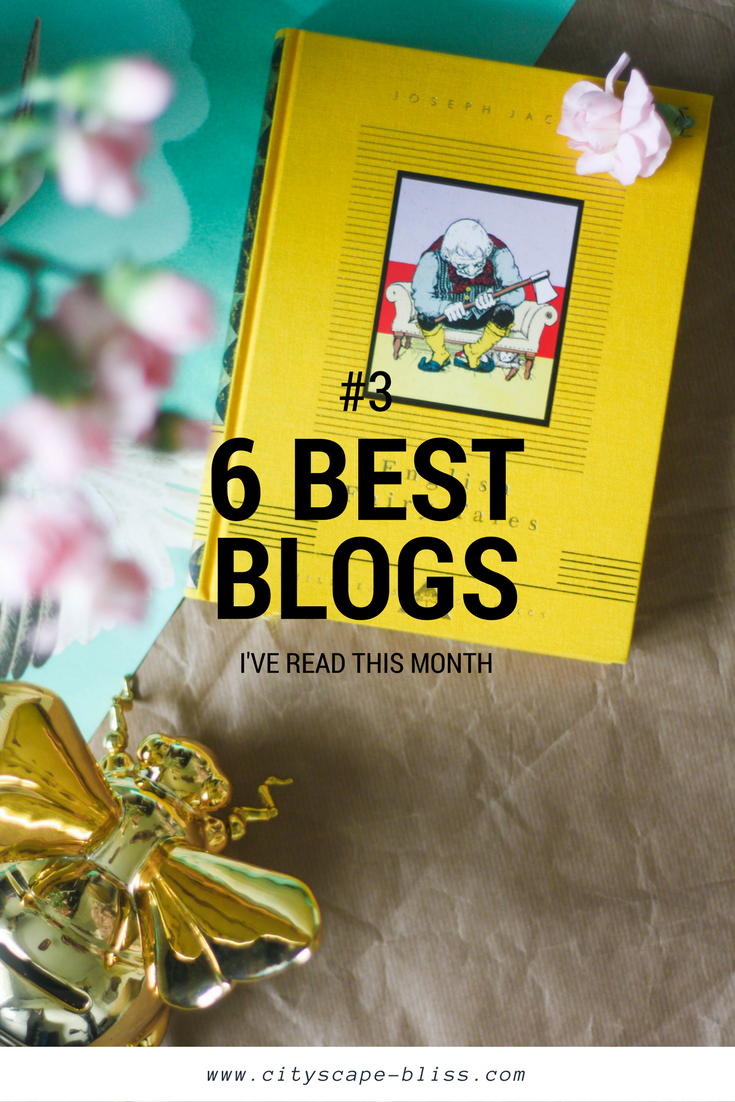 6 blogs I've actually read in February 2017